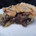 Platte County Pie - This is a pie that tastes like a giant soft chocolate chip cookie.