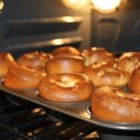 Sky High Yorkshire Pudding - Here is recipe I came up with while cooking roast beef dinner. These Yorkies stay tall and have a perfect hollow centre for lots of yummy gravy.