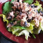 Greek-Style Tuna Salad - Kalamata olives and feta cheese lend a taste of Greece to this tuna salad.