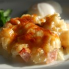 Cheesy Ham and Hash Brown Casserole Recipe