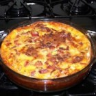 Bacon and Swiss Quiche - We love quiche in our house; however, my mother is allergic to onions, so we created a recipe that she can enjoy with us. This is great with a cup of broth on a rainy day.