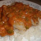 Baked Fish Creole - A meal in itself when served with a green salad.