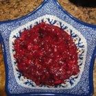 Cranberry Relish with Grand Marnier(R) and Pecans - After making this relish, you will never eat the canned stuff again.