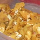 Microwave Peanut Brittle - This recipe was given to me by a friend quite a few years ago.