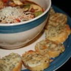Asiago Toasted Cheese Puffs - The herbs nicely compliment the Asiago's nutty undertones.