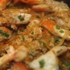 Singaporean Chile Crab - This recipe is well known in Singapore and is a great hit with tourists and locals alike! It is really spicy!!!