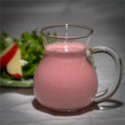 Raspberry Salad Dressing II - This is a smooth and creamy raspberry dressing.  If you can find raspberry vinegar, use that instead.