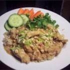 Slow Cook Thai Chicken - Slow cooked chicken breasts in a rich, peanutty, slightly spicy sauce.  Serve over rice.