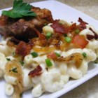 Macaroni and Cheese with Bacon and Onions - Macaroni and cheese is perfect supper food. It's a kids' favorite, and adults like it too. My recipe is simple and almost as quick as the boxed variety. Try this variation with bacon and caramelized onions.