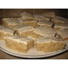 Banana Bars - Wonderful, soft banana bars with banana frosting.  Yum, yum!