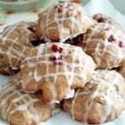 Cranberry-Pumpkin Cookies - Pumpkin puree helps this recipe make soft, cake-like cookies filled with fresh cranberries and walnuts