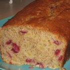 Cranapana Bread - Cranberries, apples and bananas make for a moist, flavorful quick bread. Great for breakfast or dessert!