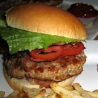 Tastes-Like-Beef Turkey Burgers - This recipe is for those who want to cut beef out of their diet, but still love a good burger! Ground turkey is beefed up with onion soup mix and steak sauce. Serve on buns with your favorite condiments.