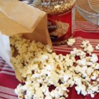 Gourmet Microwave Popcorn - Make your own microwave popcorn. All you need is popcorn, olive oil, salt, and brown paper bag!