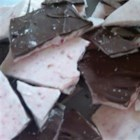 Chocolate-Dipped Peppermint Bark - White chocolate peppermint bark dipped in semi-sweet chocolate is perfect for that holiday plate.  You can also add a bit of peppermint extract for extra zing.