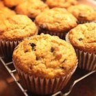 Moist Banana Muffins - Mayonnaise, bananas, and chocolate chips team up in this muffin recipe.