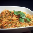Gujarati Carrot and Peanut Salad - A refreshing Indian salad that is the perfect complement to a curry meal. The peanuts add a wonderful nuttiness to this simple and tasty salad.