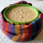 Beth's Tex Mex Dip - This chilled dip is super easy, a little spicy, cheesy and GREAT with tortilla chips!