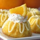 Yellow Cake - A great tasting yellow cake made fom scratch with eggs and orange juice.