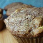 Chocolate Raisin Oatmeal Muffins - Cocoa, oatmeal and raisins combine for a tasty muffin with a healthy flair.