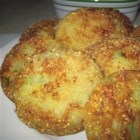Fried Green Tomatoes III - Crispy green tomatoes try dipping them in hot pepper sauce for extra flavor enhancement. Easy to make and  good to eat what more could you ask for?