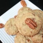 Butter Pecan Rounds - An easy drop cookie, and one of my husband's favorites.  Use real butter in the recipe.