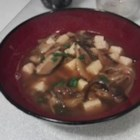Vegan Hot and Sour Soup - A mushroom and tofu extravaganza! The exotic ingredients in this enticing soup may be found in Asian grocery stores. Don't let the extra effort keep you from trying this tasty treat!