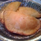 Easy Picadillo Empanadas - Go deep this Super Bowl Sunday: Serve empanadas. These turnovers are perfect 'finger food' -- no knife and fork required. And because the recipes use refrigerated biscuit dough, it's an easy score. All you have to do is make the fillings.