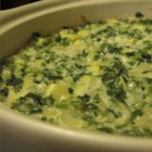 Hot Artichoke Spinach Dip - Three cheeses bring their distinctive flavors to this rich, delicious hot artichoke dip!