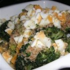 Broccoli Polonaise - Simple steamed broccoli gets a topping of traditional buttered crumbs and hard-cooked egg in this French-by-way-of-Poland inspired recipe.
