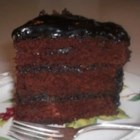 Wellesley Fudge Cake I - This recipe dates to the early 1960's when it was the rage of Washington, D.C. It was frosted with a thick fudge icing.