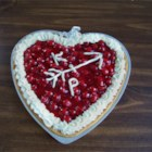 Valentine's Day Dessert - Are you long on love but short on time? Use pre-packaged cookie dough, cream cheese, confectioner's sugar, cherry pie filling and whipped topping to fashion a sweet and fanciful heart-shaped delight.