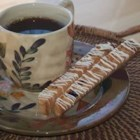 Orange Almond Biscotti II - These biscotti are very low in fat but they are delicious. You can substitute the almonds with 3/4 cup cranberries.