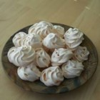 Meringue Cookies - This recipe can be doubled, but if you do, don't double the chocolate chips. Best if eaten in a few days.