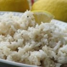 Lemon Thyme Rice - Rice is cooked with lemon juice and thyme. Why serve plain old rice when you can wow them with this simple, delicious recipe?