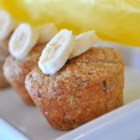 Whole Grain Banana Muffins - Fantastic tasting oat bran and whole wheat banana muffin.