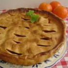 Mom's Apple Pie II - Mom's apple pie is your standard for all other apple pies!  It is a typical New England recipe that tastes the best in the fall when the apples are at their prime.