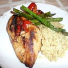 Grilled Lemon Chicken - A touch of Dijon mustard adds a bit of zest to this delicious grilled chicken recipe.
