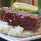 Glazed Meatloaf II - This meatloaf's flavor is enhanced with beef bouillon and a brown sugar glaze with a hint of lemon juice.