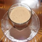 Chocolate Banana Shake - A quick morning snack made with milk, banana and malted milk powder.
