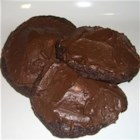 Chocolate Drop Cookies II - These are chocolate cookies with marshmallows on top covered by chocolate frosting.  This was my mom's recipe from the fifties.