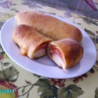 Pepperoni Rolls - Sweet soft rolls have a surprise filling of pepperoni in this favorite regional treat.