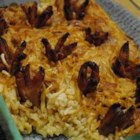My Mom's Sausage & Rice Casserole - This is my favorite casserole! It features pork sausage, rice, chicken noodle soup mix and various vegetables. I grew up loving this and now I make it for my husband, who loves it as much as me if not more.