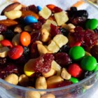 Favorite Trail Mix - Cranberries, cherries, blueberries, and pineapple join chocolate and nuts in a trail mix perfect for hiking.