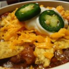 Tommy's Chili - This thick, tomatoless beef chili is for topping burgers, dogs, or anything you can think of to put it on!