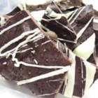 Espresso Bark - A simple chocolate candy recipe made with coffee beans and speckled with white chocolate, great for giving at Christmas!