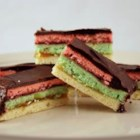Rainbow Cookies - Use this food coloring, raspberry jam, and this recipe to make rainbow cookies that are moist, mellow, and full of almond flavor.