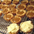 Caramel Cups - These are a crowd pleaser. They have a flaky crust wih a creamy caramel filling.