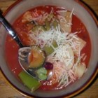 Easy Vegetable Soup I - Use up those cans of veggies and beans and cook up a soup so delicious that you could call it magic! This lovely tomato-based vegetable soup takes only 30 minutes to prepare.