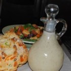 Italian Restaurant-Style Dressing - Perfect proportions and interesting ingredients create a great dressing. Corn syrup and pectin are the real surprises, but this blended vinegar and oil dressing with lots of herbs, is sensational.